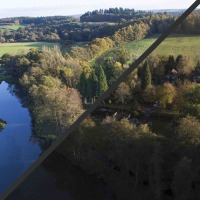 Professional post-processing of aerial images in Surrey